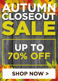 Columbus Day Closeout Sale
